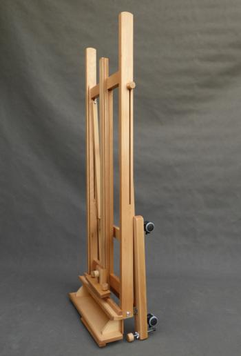 sztalugę studyjną XL teleskopową można także złożyć