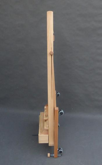 złożona sztaluga XL korba złożona
