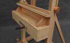 Długa półka w sztaludze studyjna XL korba