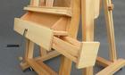 szeroka półka i szufladki w sztaludze XL korba pozioma