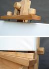 specjalne mocowanie podobrazia w sztaludze studyjne XL korba pozioma