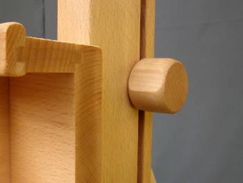 ergonomiczna gałka sztalugi studyjna korba podwójna