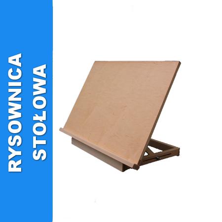 rysownica stołowa drewniania