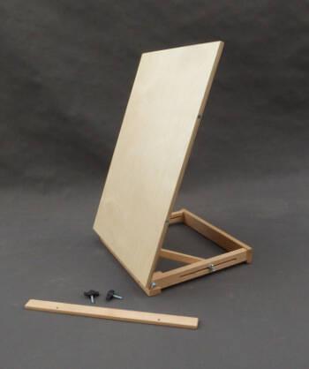 demontowalna półka w sztaludze stołowej