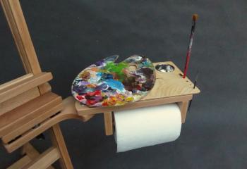 sztaluga studyjna m wyposażona w półko paletę