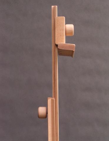 teleskopowy słupek pozwala na pracę do 140 cm
